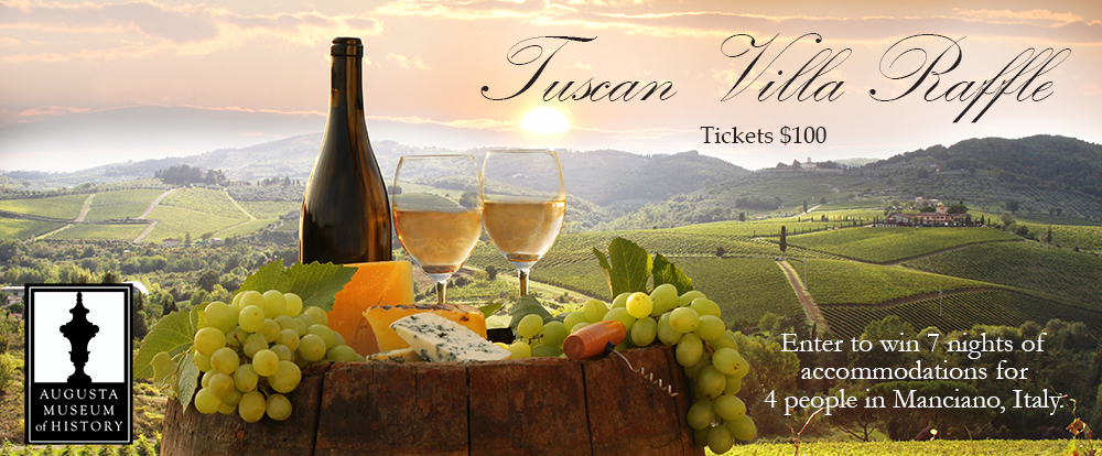 2016 Tuscany Raffle | Augusta Museum of History