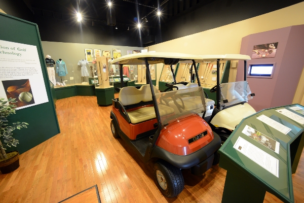 Golf Cars Display | Augusta Museum of History