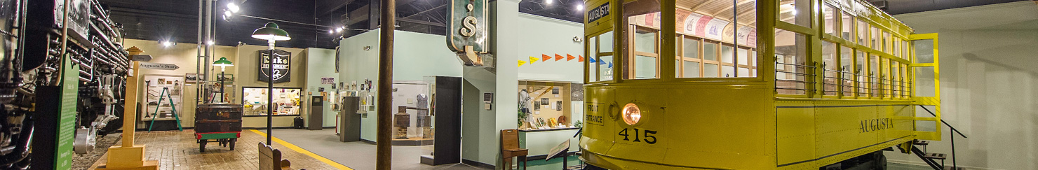 Yellow Trolley | Augusta Museum of History
