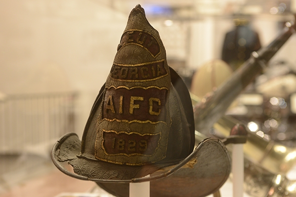 Fire Helmet | Augusta Museum of History