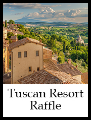 Tuscan Resort Raffle Button 1 | Augusta Museum of History