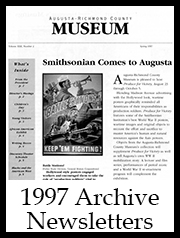 1997 Archive Newsletter Button | Augusta Museum of History