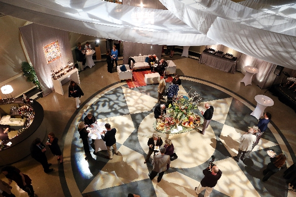 Lexus Launch Rotunda From Balcony Wedding Event Venue | Augusta Museum of History