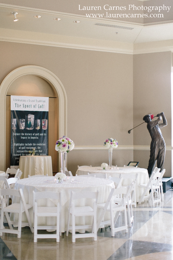 Rotunda Tables LCP Wedding Event Venue | Augusta Museum of History