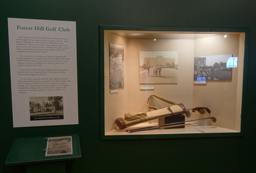 Golf Club case resize | Augusta Museum of History