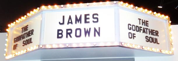 James Brown light sign resize