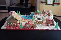 Augusta Museum Staff Gingerbread House