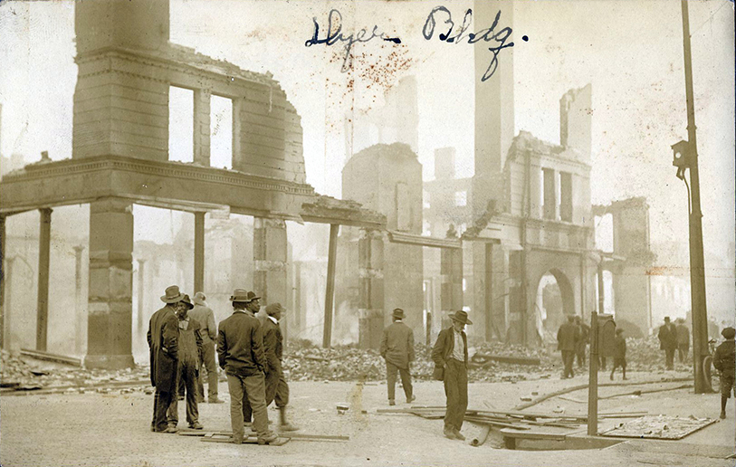 1916 Fire - Dyer Building  | Augusta Museum of History