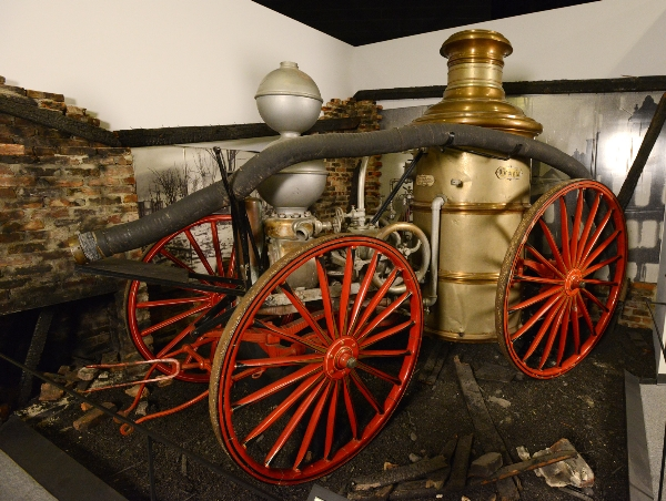 Augusta's Story Fire Pumper | Augusta Museum of History