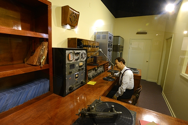 WWBQ Radio Booth 2 | Augusta Museum of History