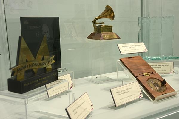 James Brown Exhibit Grammy | Augusta Museum of History