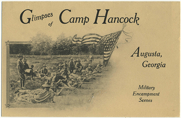 Glimpses of Camp Hancock | Augusta Museum of History