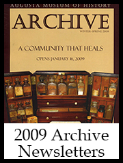 2009 Archive Newsletter Button | Augusta Museum of History