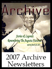2007 Archive Newsletter Button | Augusta Museum of History