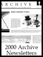 2000 Archive Newsletter Button | Augusta Museum of History