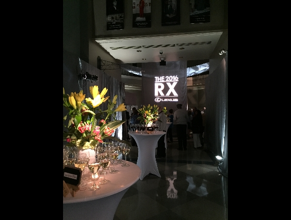Rotunda Set Up for Lexus Vehicle Launch Party Wedding Event Venue | Augusta Museum of History