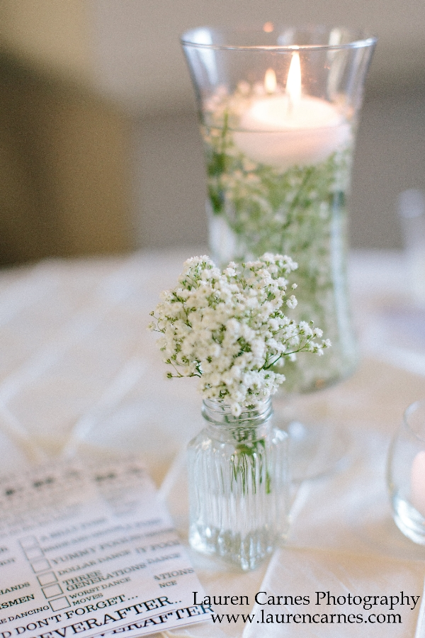 Rotunda Table Candle LCP Wedding Event Venue | Augusta Museum of History