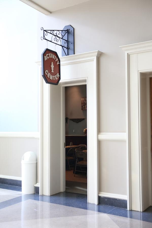 Activity Center Door   Augusta Museum of History