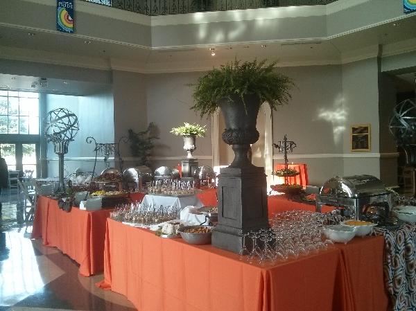 Rotunda Event Center Set Up Wedding Venue   Augusta Museum of History