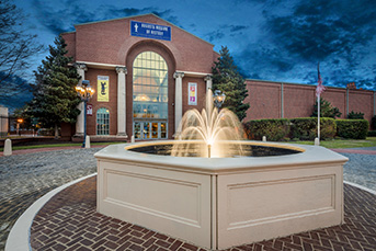Museum Exterior Entrance Fountain | Augusta Museum of History