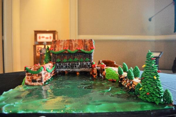 2018 Gingerbread - Canal Headgates | Augusta Museum of History