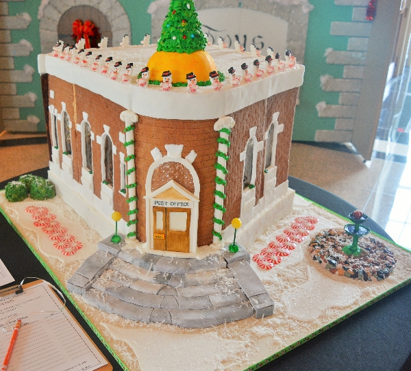 2018 Gingerbread - Old Aiken Post Office | Augusta Museum of History