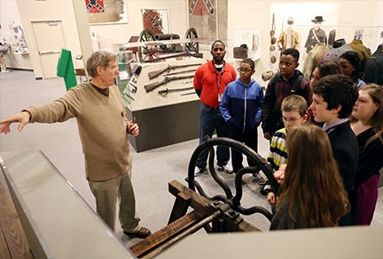 Middle School Tour Group2 | Augusta Museum of History