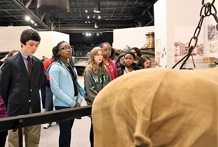 Middle School Tour Group1 | Augusta Museum of History