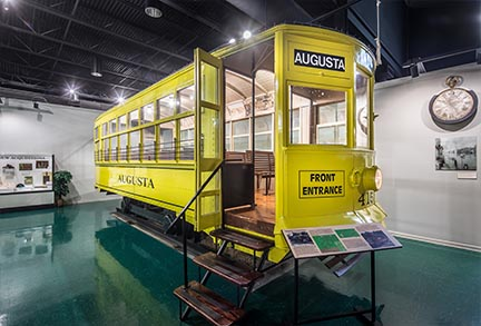 Trolly Exhibit | Augusta Museum of History