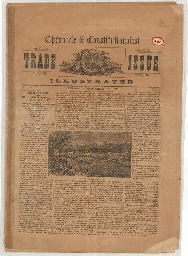 Preservation Newspaper   Augusta Museum of History
