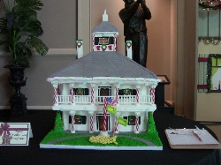 2012 2nd Place Winner-The Augusta National Club House by Eddie Walker's Ice Sculptures