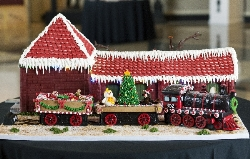 People's Choice Award 1st Place-Southern Railway Freight Depot by Madelyn's Specialty Cakes